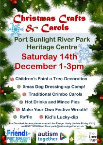 Christmas Event Crafts & Carols Port Sunlight River Park